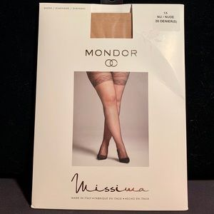 NWT Mondor Missima Tights in Nude 1X